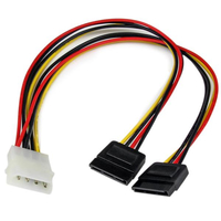 StarTech.com PYO2LP4SATA 0.304m internal power cable