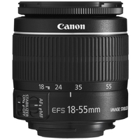 Canon EF-S 18-55mm f/3.5-5.6 IS II Black