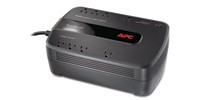 APC Back-UPS 650VA 8AC outlet(s) Compact Black uninterruptible power supply (UPS)