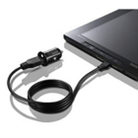 Lenovo 0A36247 Auto Black mobile device charger