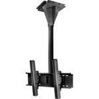 "Peerless ECMU-01-C 65"" Black flat panel ceiling mount"
