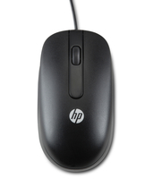 HP PS/2 Mouse PS/2 Optical 800DPI Ambidextrous Black mice
