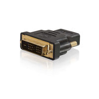 C2G DVI-D to HDMI Inline Adapter DVI-D HDMI Black cable interface/gender adapter