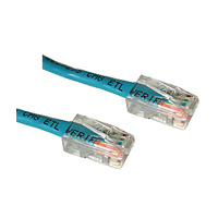 C2G 1ft Cat5E 350MHz Assembled Patch Cable Blue 0.3m Blue networking cable