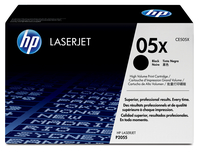 HP 05X Laser cartridge 6500pages Black