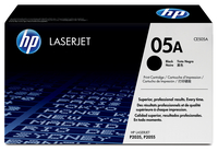 HP 05A Laser cartridge 2300pages Black