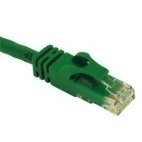 C2G 150ft Cat6 550MHz Snagless 45.75m Green networking cable