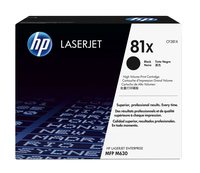 HP 81X Laser cartridge 25000pages Black
