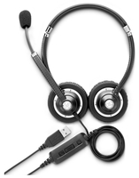 HP UC Wired Headset Binaural Head-band Black headset