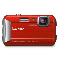 "Panasonic DMC-FT30 Compactcamera 16.1MP 1/2.33"" CCD 4608 x 3456Pixels Rood"