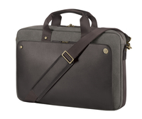 "HP 15.6 Executive Brown Top Load 15.6"" Briefcase Brown"