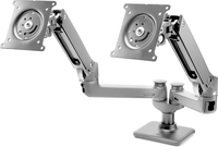 "HP Hot Desk 2nd Monitor Arm 27"" Clamp Black"