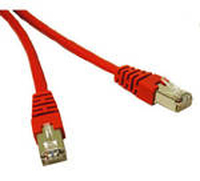 C2G 1m Cat5e Patch Cable 1m Red networking cable