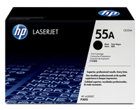 HP 55A Laser cartridge 6000pages Black