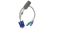 Raritan P2CIM-APS2 2xPS/2 VGA Grey cable interface/gender adapter