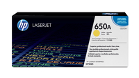 HP 650A Laser cartridge 15000pages Yellow
