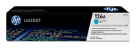 HP 126A Laser cartridge 1000pages Cyan