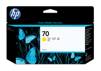 HP 70 gele DesignJet inktcartridge, 130 ml