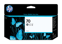 HP 70 grijze DesignJet inktcartridge, 130 ml