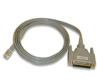Avocent RJ-45M / DB-25F Cable 1.8m Beige networking cable
