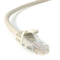 StarTech.com 100 ft Gray Snagless Category 5e (350 MHz) UTP Patch Cable 30.48m Grey networking cable