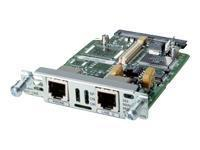 Cisco 1-port Analog Modem Interface card 0.056Mbit/s netwerkkaart & -adapter