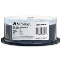 Verbatim 97334 50GB BD-R 25pcs read/write blu-ray disc (BD)