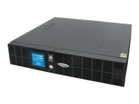 CyberPower Smart App Intelligent LCD 2000VA 8AC outlet(s) Rackmount/Tower Black uninterruptible power supply (UPS)