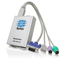 Raritan Dominion KX II-101 V2 Grey KVM switch