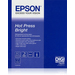Epson Pap Hot Press Bright 25f. A2 (0.420x0.594m) 330g papier jet d'encre