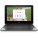 "HP Chromebook x360 11 G1 EE Black 29.5 cm (11.6"") 1366 x 768 pixels Touchscreen 1.10 GHz Intel® Celeron® N3350"