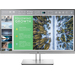 "HP EliteDisplay E243 LED display 60.5 cm (23.8"") Full HD Flat Black, Silver"