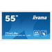 iiyama ProLite TF5538UHSC-W1AG touch screen-monitor 3840 x 2160 Pixels Wit Multi-touch Multi-gebruiker