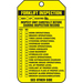 Panduit PCT-1145-Q safety sign 25 pc(s) Tag safety sign