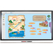 "Smart Board 6065 touch screen-monitor 163,8 cm (64.5"") 3840 x 2160 Pixels Wit Multi-touch Multi-gebruiker"