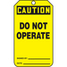 Panduit PVT-1036 safety sign 5 pc(s) Plate safety sign