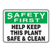 Panduit PRS1014S7239 safety sign 1 pc(s) Plate safety sign