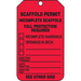 Panduit PVT-1140-Q safety sign 25 pc(s) Plate safety sign
