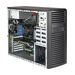Supermicro SYS-5039C-T PC/workstation barebone Midi-Tower Black Intel C246 LGA 1151 (Socket H4)
