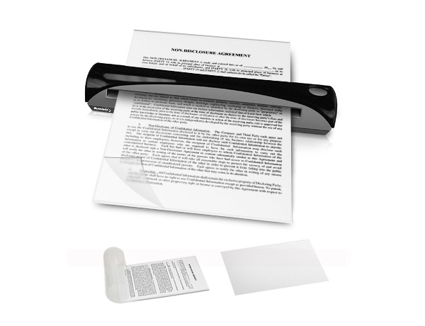 Ambir Technology Document Sleeve Kit for Sheetfed and ADF Scanners