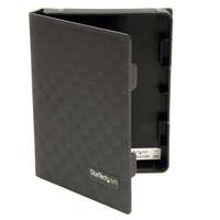 "StarTech.com HDDCASE25BK 2.5"" Black storage enclosure"