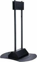 "Peerless FPZ-670 71"" Portable Black flat panel floorstand"