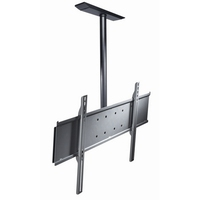 Peerless PLCM-UNL-CP Black flat panel wall mount