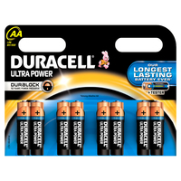Duracell AA Ultra Power batterijen (8 stuks)