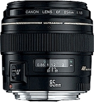 Canon EF 85mm f/1.8 USM Telephoto lens Black