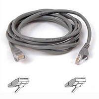 Belkin Cat. 6 UTP Patch Cable 75ft Grey 22.8m Grey networking cable