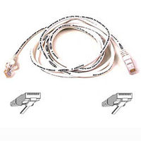 Belkin Cat6 Snagless Patch Cable 14 Feet White 4.3m White networking cable