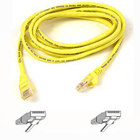 Belkin Cat. 6 Patch Cable 5ft Yellow 1.5m Yellow networking cable