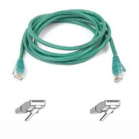 Belkin CAT6 Snagless Patch Cable 1ft. Green 0.3m Green networking cable