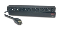 APC Basic Rack 2.4kVA Black Power Distribution Unit (PDU)